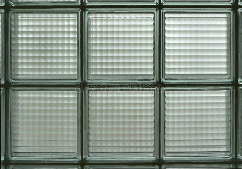Het Blok van het glas stock foto
