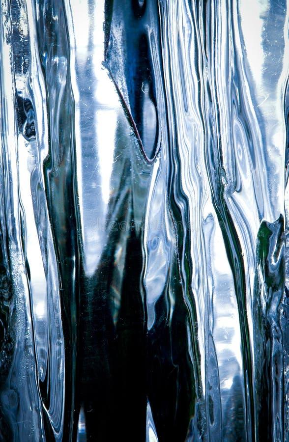 Het blok van het ijs royalty-vrije stock afbeelding
