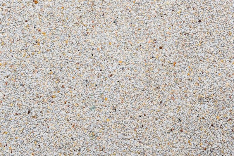 Het blootgestelde complex beëindigt of waste concrete textuur stock foto's