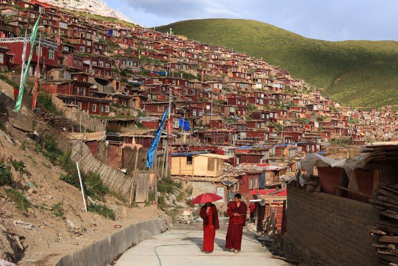 Het Boeddhismeuniversiteit Van Larong Wuming Van Seda Redactionele Afbeelding