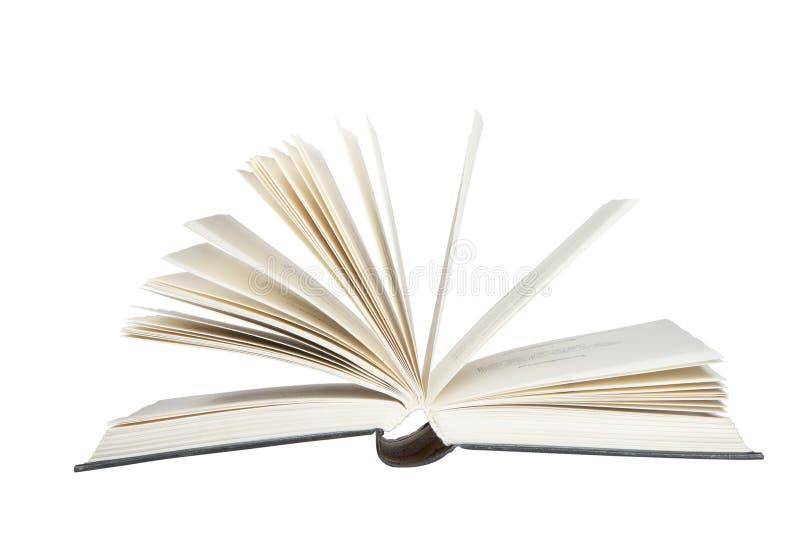 Het boek doorbladert stock afbeeldingen