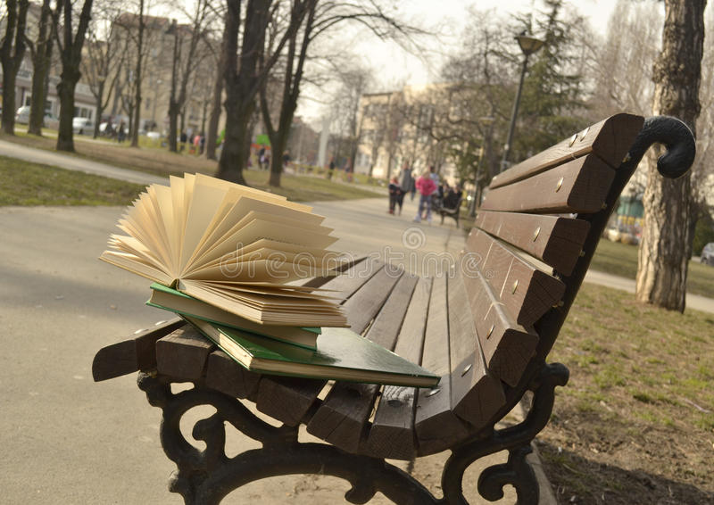Het boek en het gebroken hart royalty-vrije stock afbeeldingen