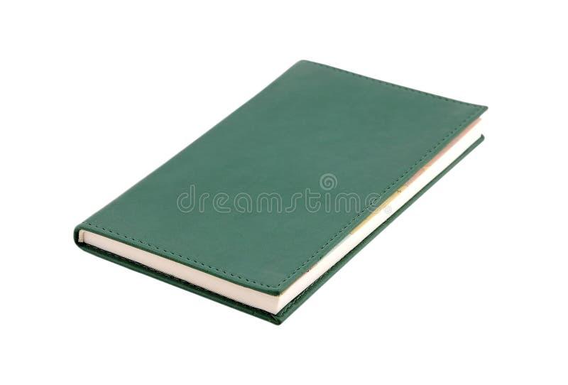 Het boek van de agenda royalty-vrije stock foto