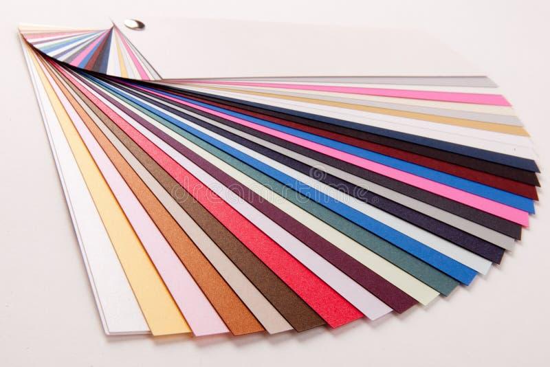 Het boek van de kleur stock foto's