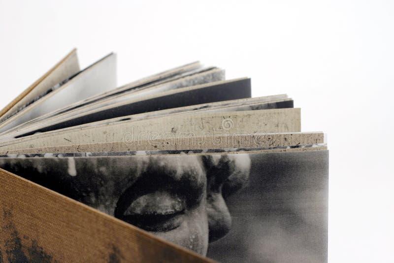 Het boek van de kunstenaar royalty-vrije stock fotografie