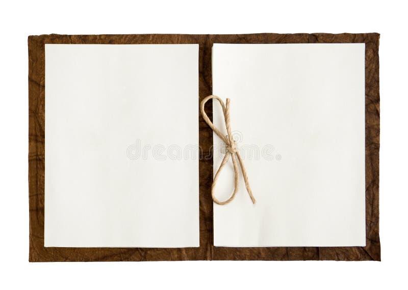 Het Boek van de nota stock afbeelding