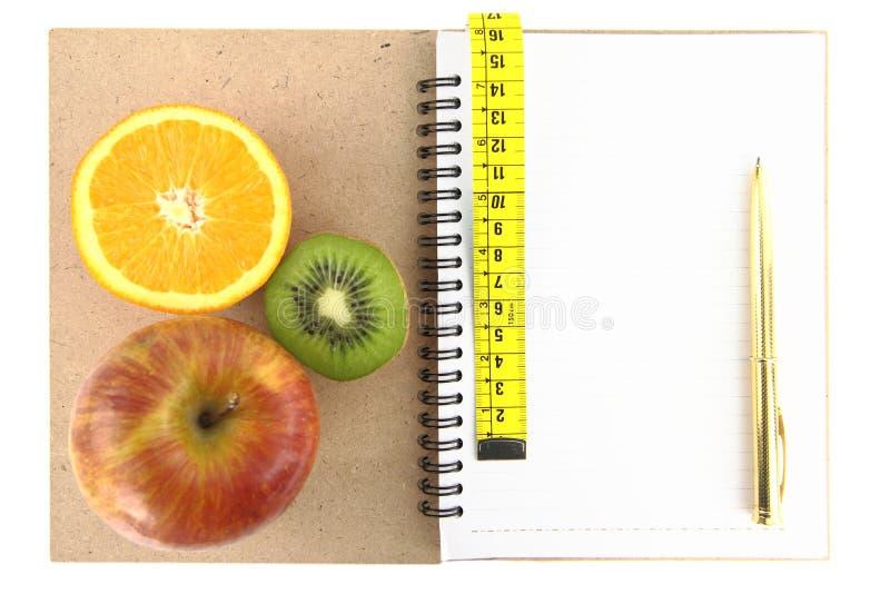 Het boek van het dieet royalty-vrije stock afbeeldingen