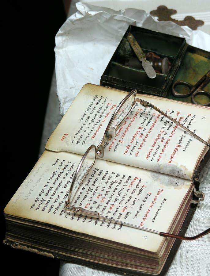 Het boek van het gebed royalty-vrije stock foto's