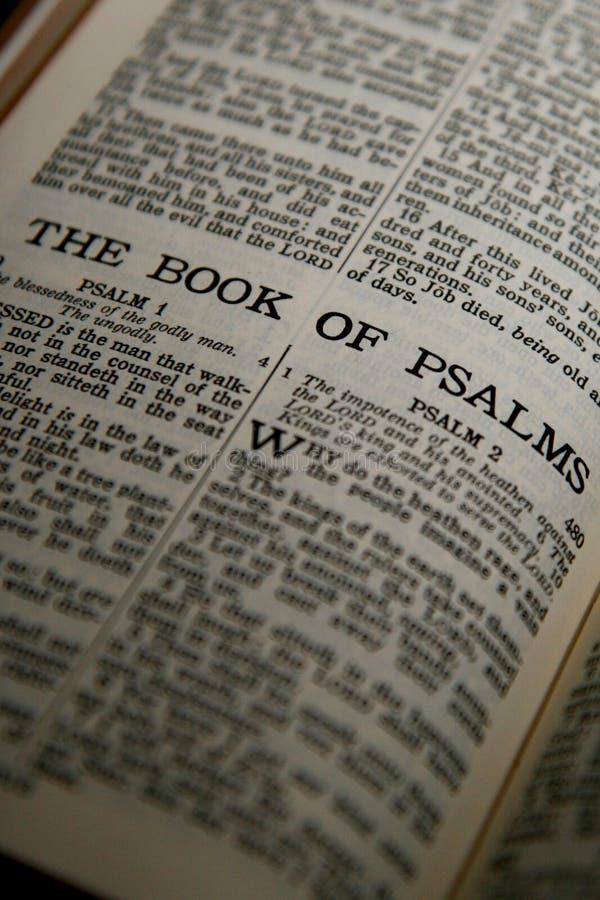 Het boek van Psalmen royalty-vrije stock fotografie