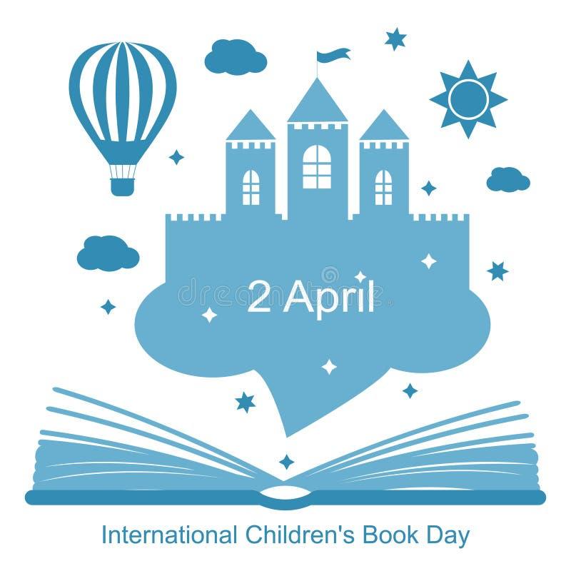 Het Boekdag van internationale Kinderen royalty-vrije illustratie