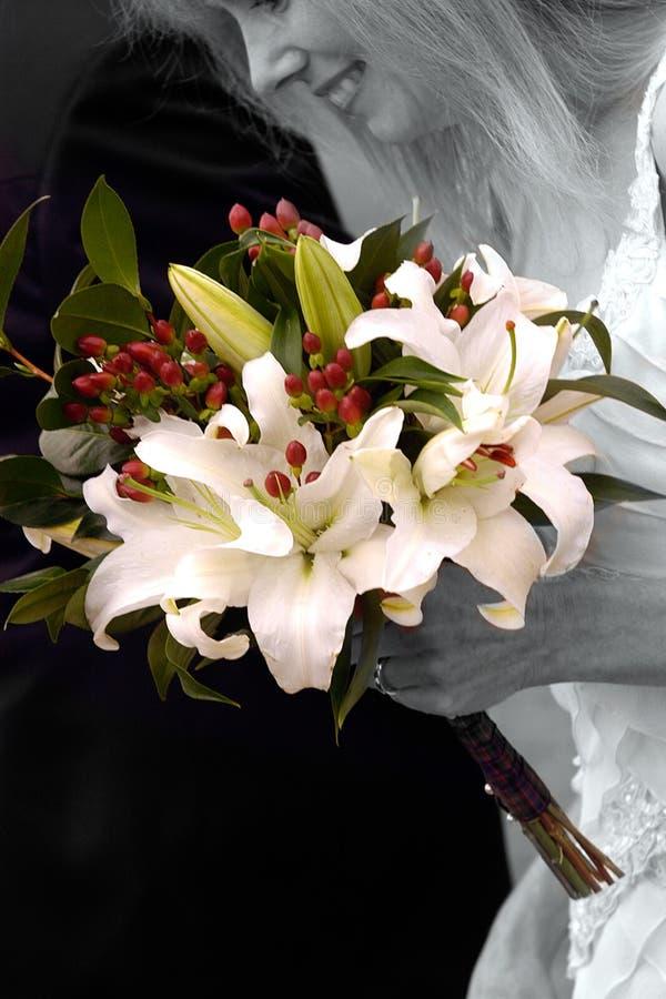 Download Het Boeket van bruiden stock foto. Afbeelding bestaande uit bruid - 49394