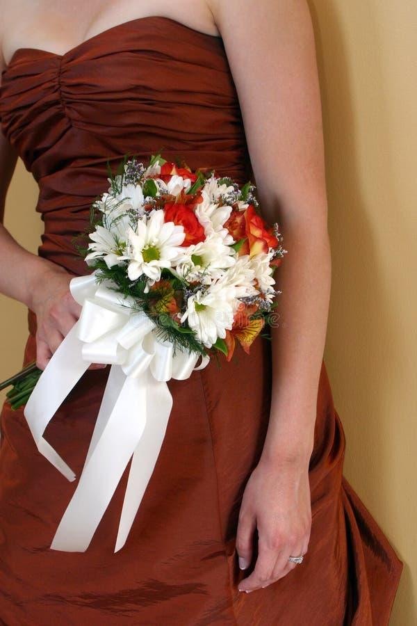 Het boeket van bruidsmeisjes stock foto's