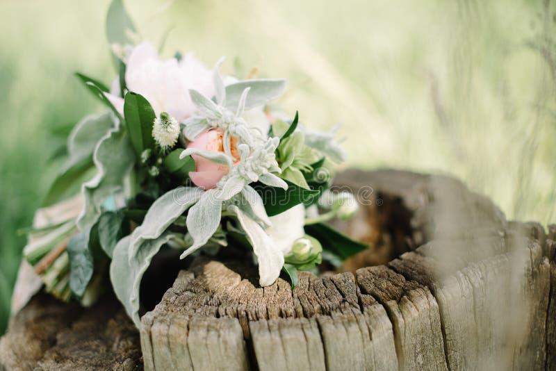 Het boeket van de bruid stock afbeelding