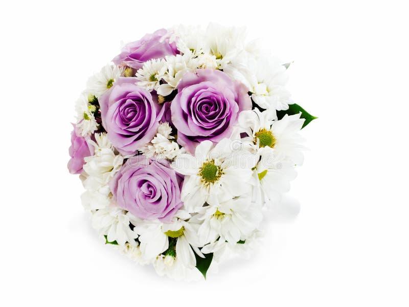 het boeket van het bloemhuwelijk voor bruid royalty-vrije stock fotografie