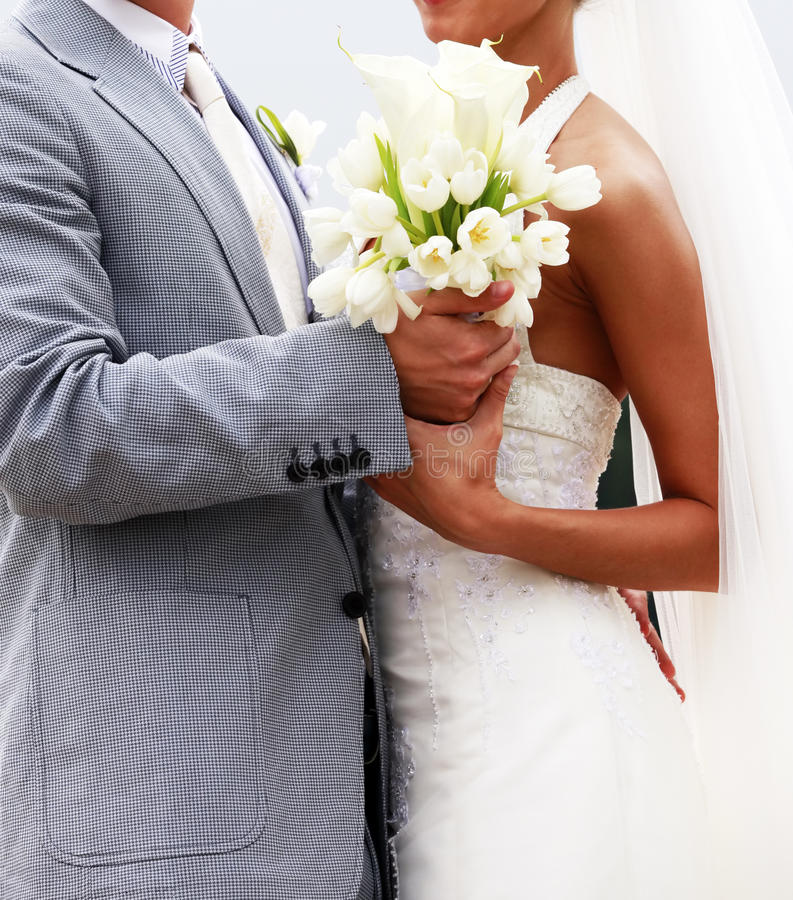 Download Het Boeket Van Het Huwelijk Stock Foto - Afbeelding bestaande uit tulp, schoonheid: 10778840
