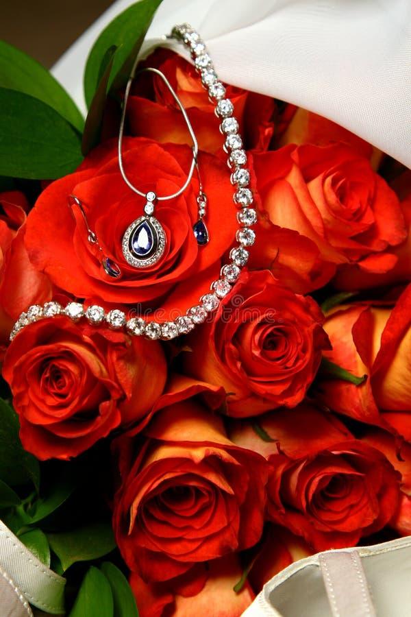 Het Boeket van juwelen royalty-vrije stock afbeelding