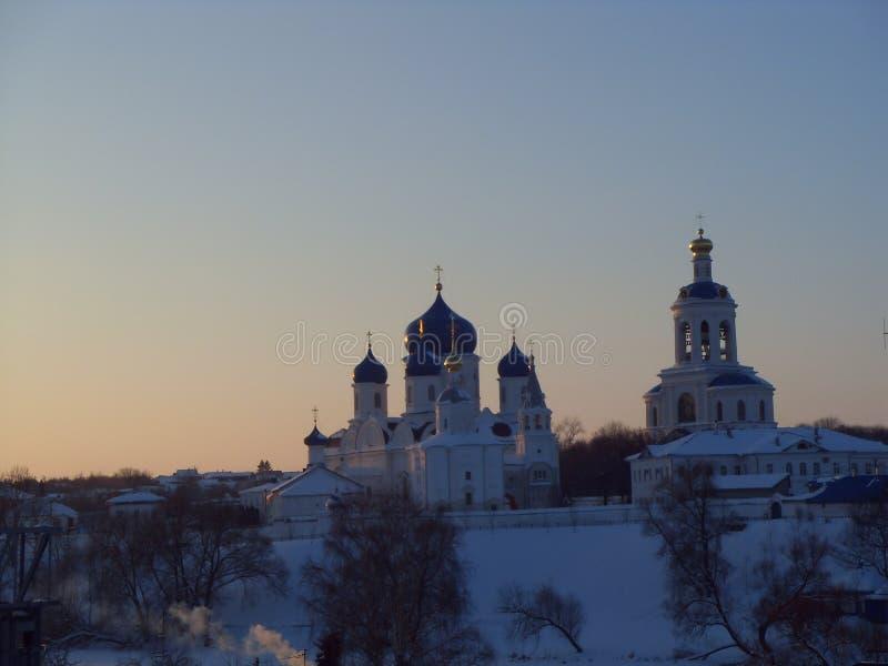 Het Bogolyubovo-Klooster royalty-vrije stock foto
