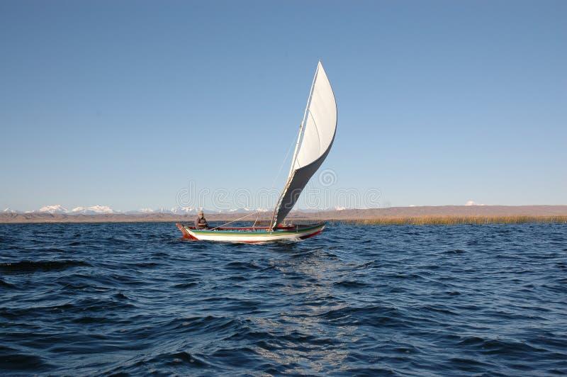 Het Boliviaanse varen stock foto's