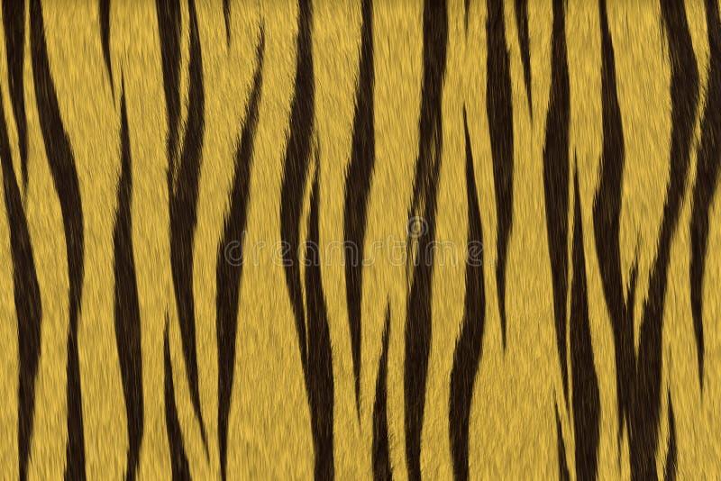 Het bont van de tijger royalty-vrije stock afbeelding