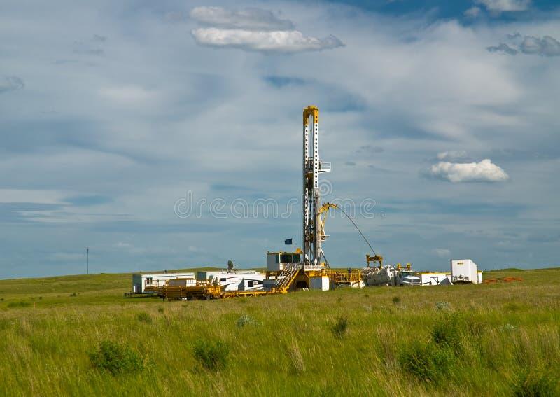 Het boren voor Olie stock afbeelding