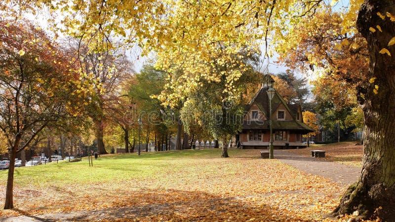 Het Bournville-Rust Huis op Groen, Bournville, Birmingham, het UK royalty-vrije stock afbeeldingen
