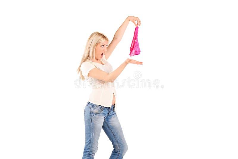 Het boze vrouw schreeuwen stock fotografie