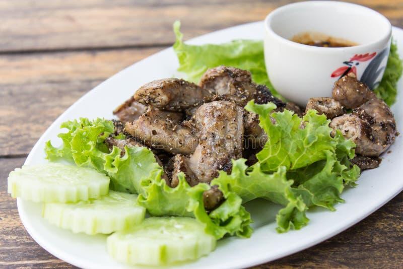 Download Het Braadstuk Van Het Varkensvlees Stock Afbeelding - Afbeelding bestaande uit cuisine, groen: 29512959