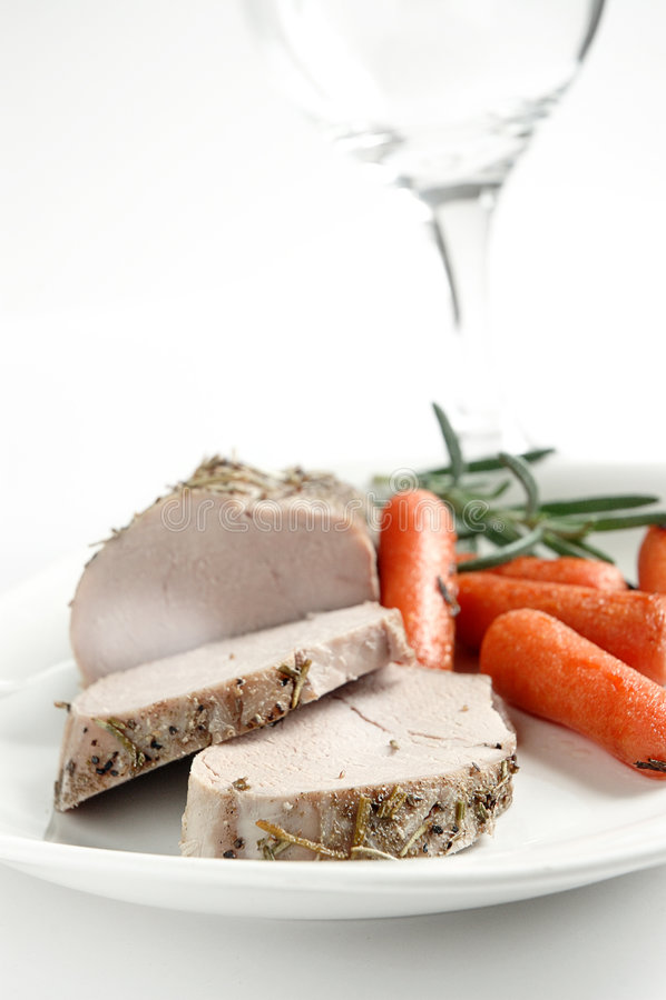 Het braadstuk van het varkensvlees royalty-vrije stock afbeeldingen