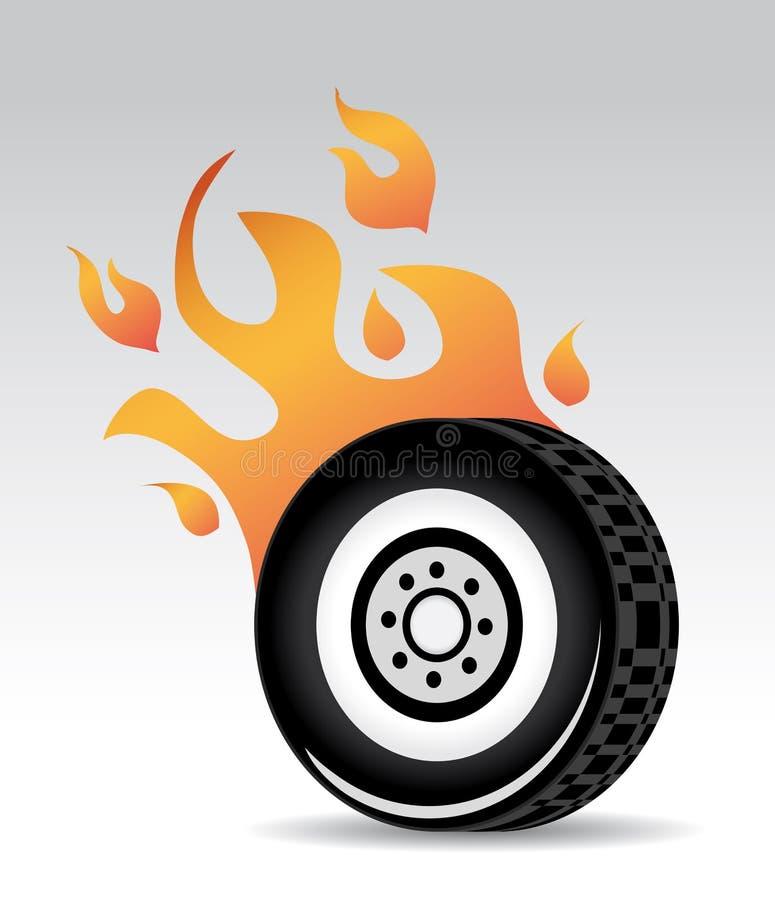 Het branden van de band vector illustratie