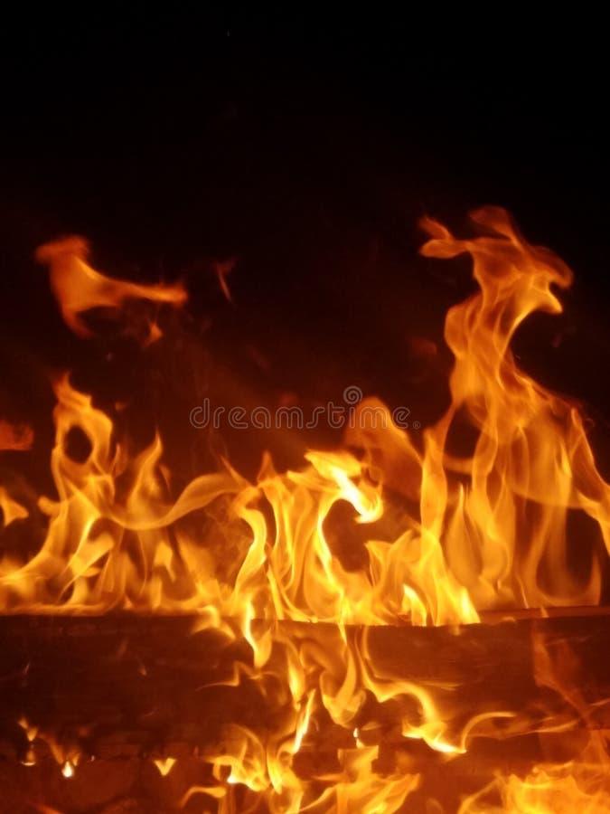 Het branden verbeelding stock foto's