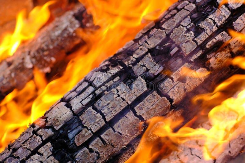 Het brandhout, sluit omhoog stock afbeeldingen