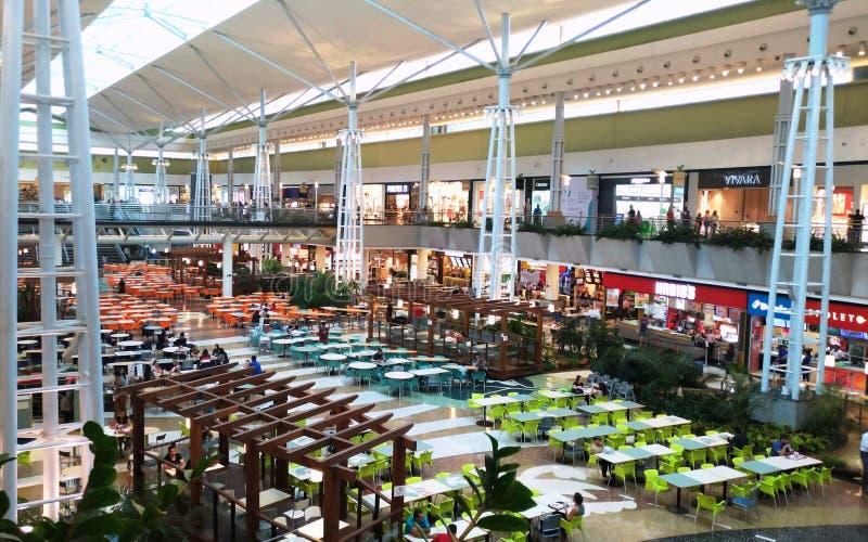 Het Braziliaanse Winkelen stock afbeelding