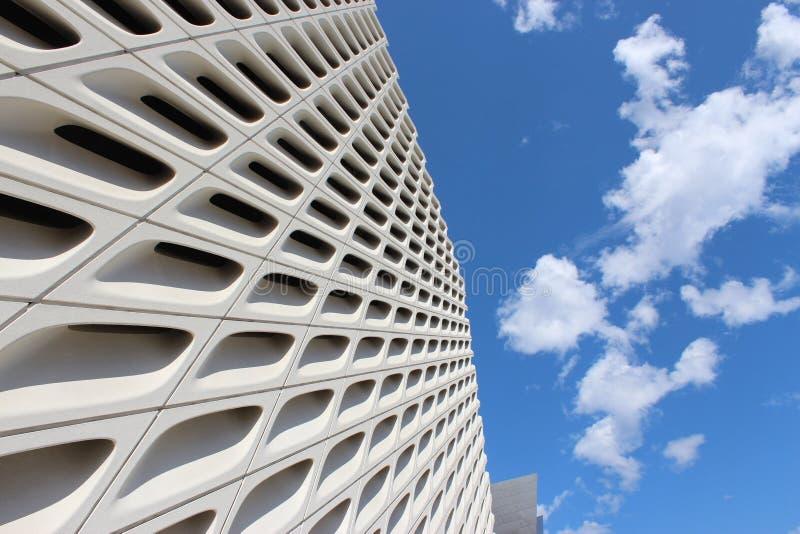 Het Brede eigentijdse kunstmuseum, Los Angeles stock foto's