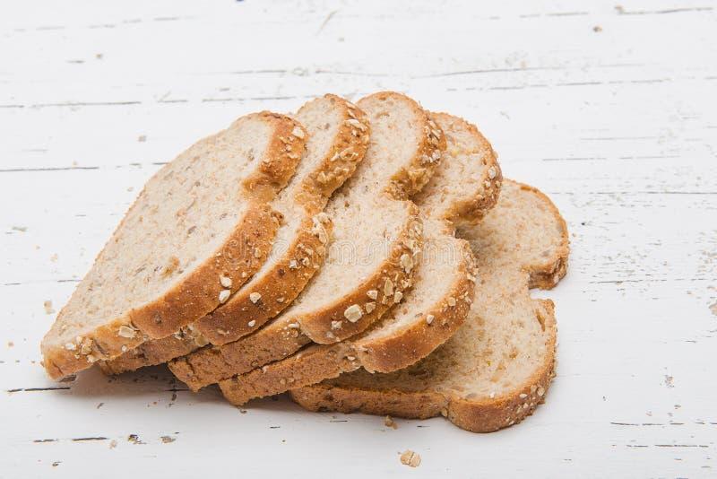 Het brood met sesam schijnt stock afbeeldingen