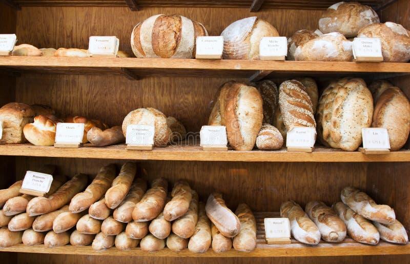Het Brood van de bakkerij royalty-vrije stock fotografie