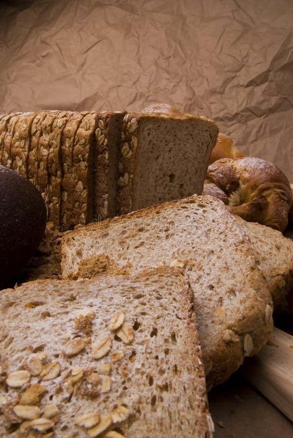 Het brood van de haver stock afbeeldingen