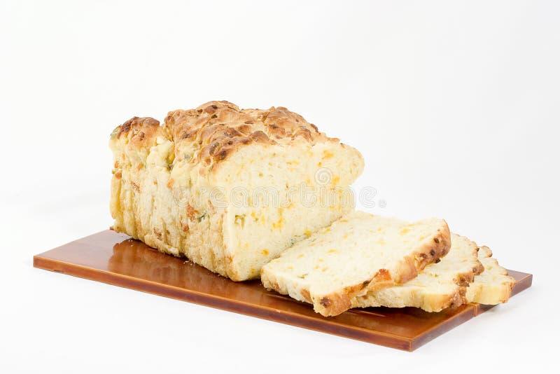 Het brood van de kaas stock fotografie