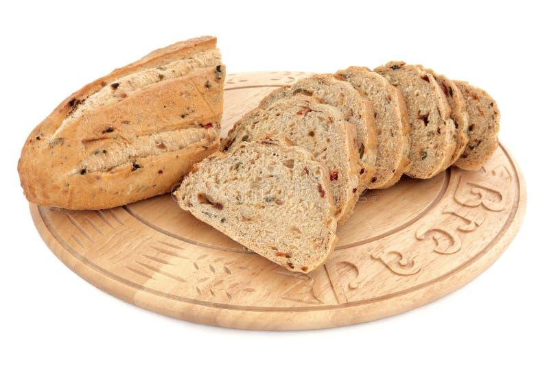 Het Brood van de olijf royalty-vrije stock fotografie