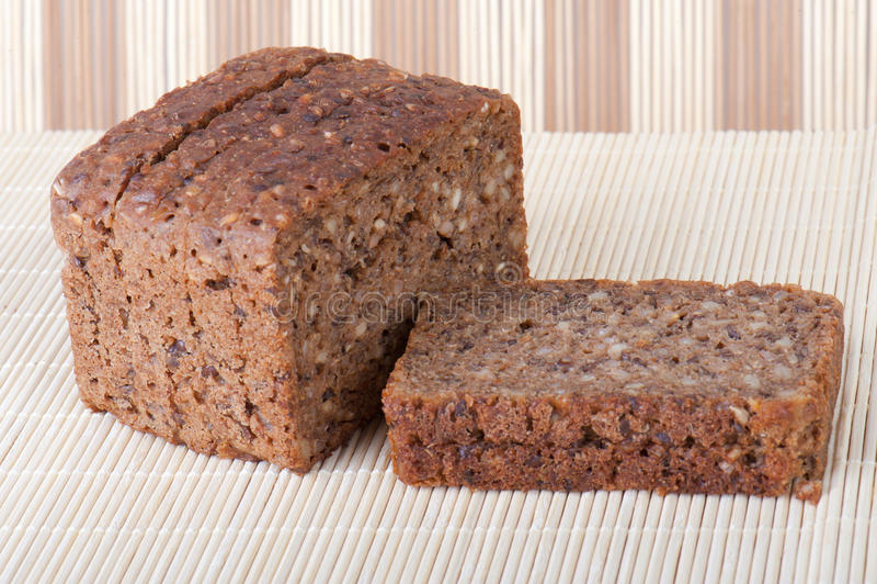 Het brood van de pompernikkel royalty-vrije stock foto