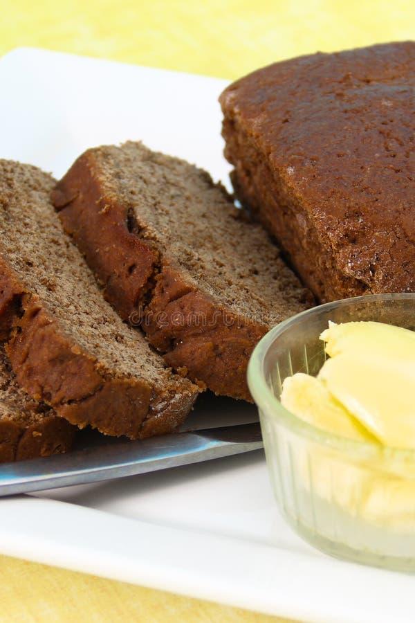 Download Het Brood Van De Rogge Met Boter Stock Foto - Afbeelding bestaande uit brood, boter: 29512468