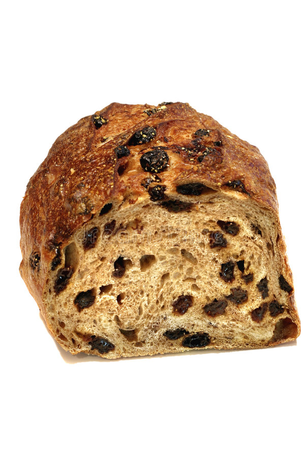 Het Brood van de rozijn stock afbeeldingen