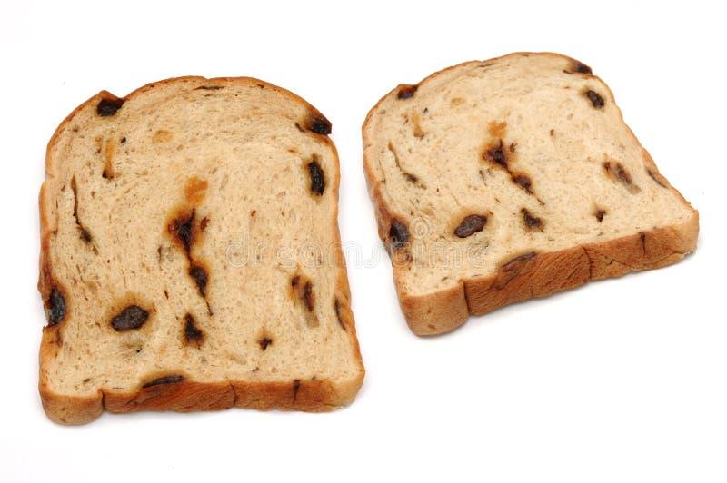 Het Brood van de rozijn stock afbeelding