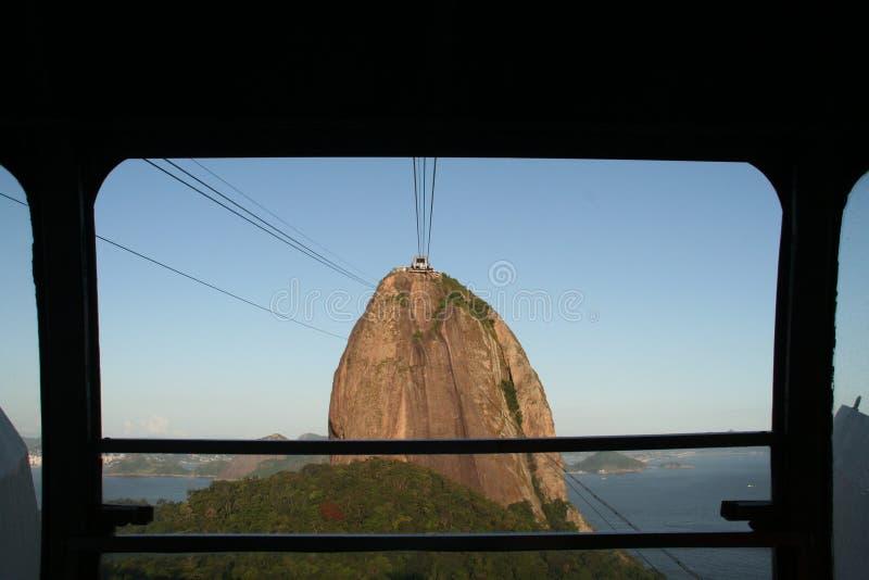 Het Brood van de Suiker van Rio stock afbeelding
