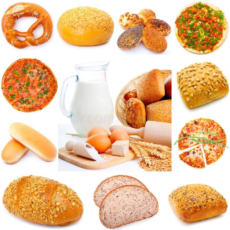 Het brood van het assortiment stock fotografie