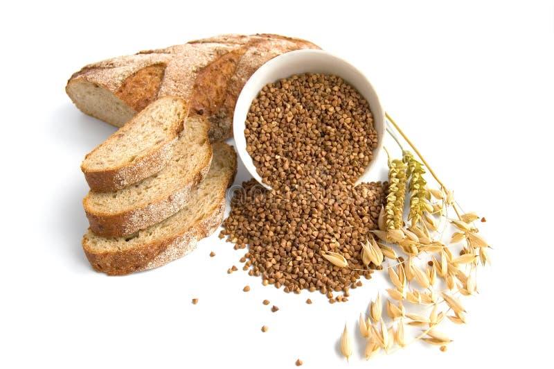 Het Brood van het boekweit stock foto