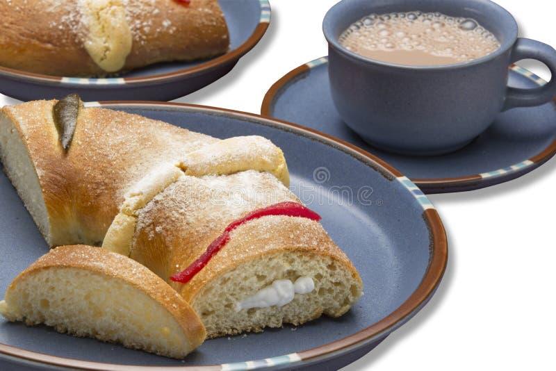 Het brood van koningendag stock afbeelding