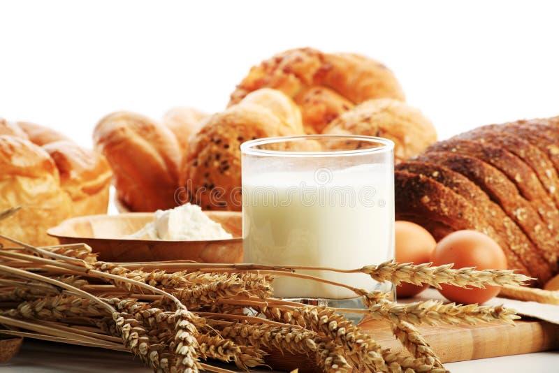 Het brood van Milkand stock foto's