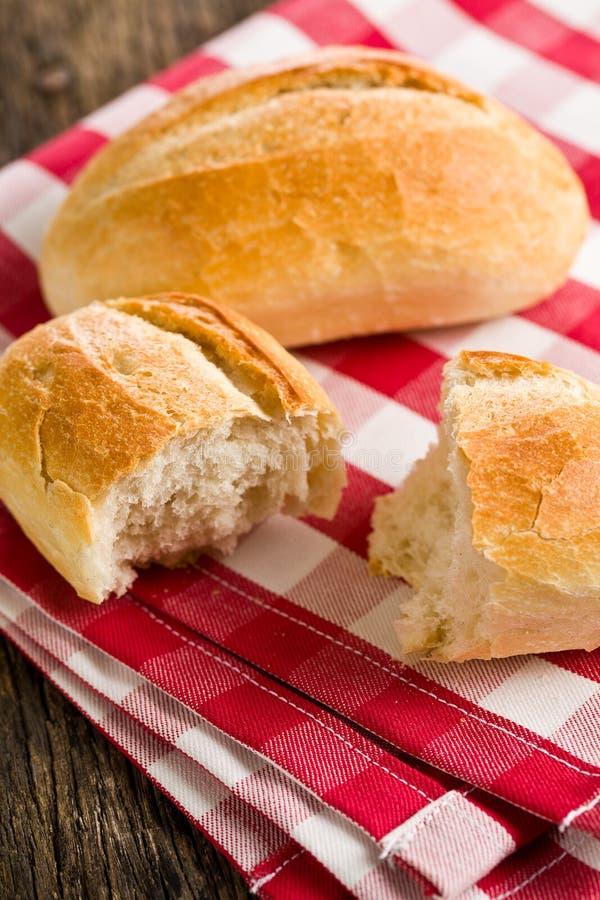 Het broodje op geruit servet