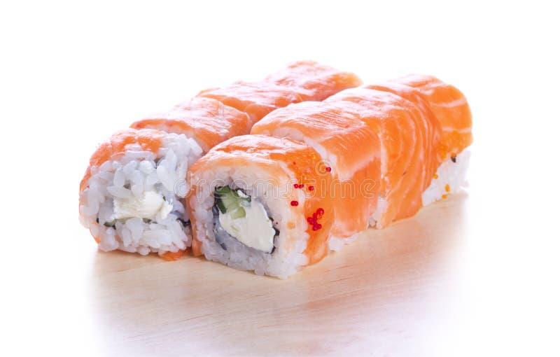 Het broodje Philadelphia van sushi royalty-vrije stock afbeeldingen