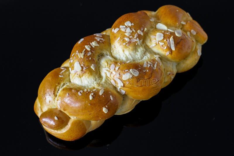 Het Broodje van de briocheknoop stock foto